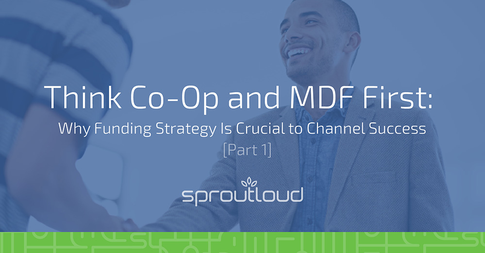 Co-op and MDF first