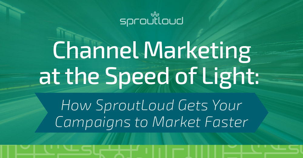Channel Marketing at the Speed of Light