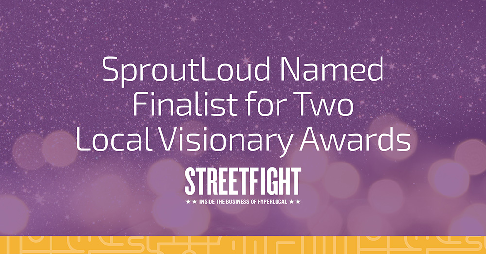 SproutLoud Named Finalist for Two Local Visionary Awards