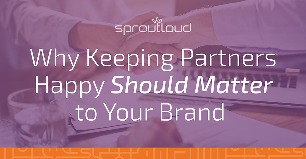 Why Keeping Partners Happy Should Matter to Your Brand