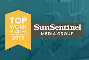 SproutLoud Named One of South Florida's Top Workplaces in 2018