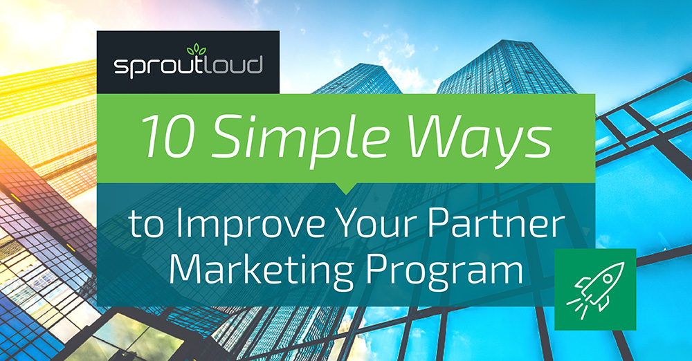 10 Simple Tips to Improve Your Partner Marketing Program