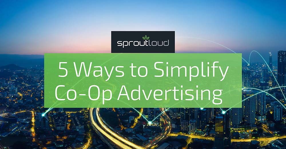 5 Ways to Simplify Co-Op Advertising