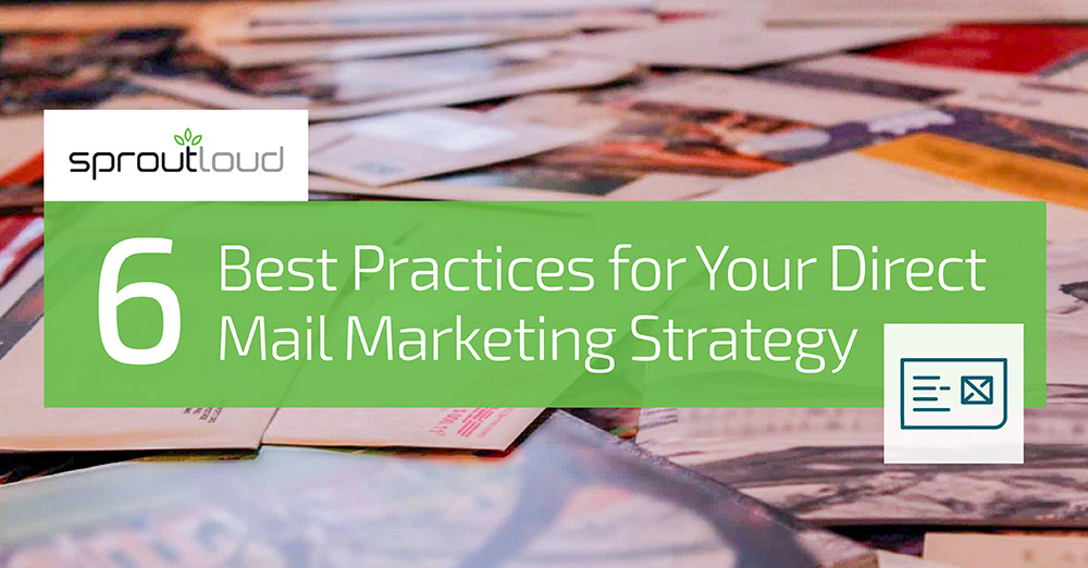 6 Best Practices for Your Direct Mail Marketing Strategy