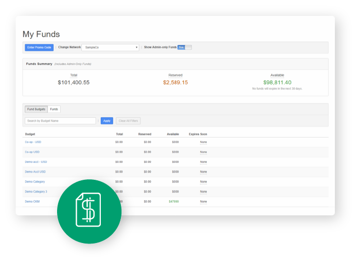SproutPay Instant Funding feature within comprehensive SaaS marketing platform