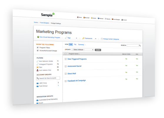 Automated Campaign Execution feature saas marketing