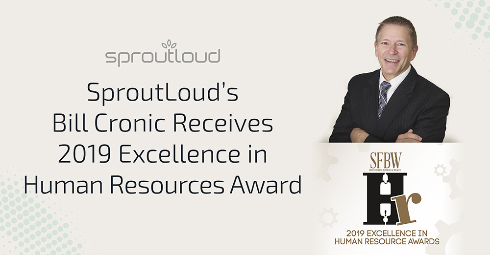 SproutLoud's Bill Cronic Receives Excellence in HR Award