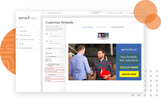 Studio feature within comprehensive SaaS marketing platform
