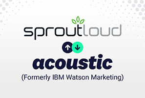 SproutLoud and Acoustic Announce Strategic Go-to-Market Partnership for Distributed Marketing