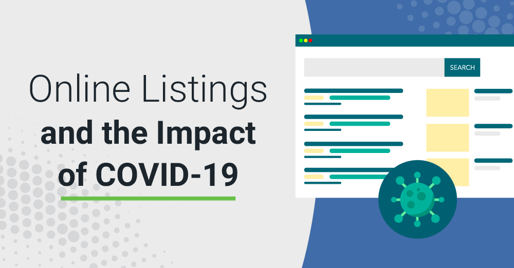 Online Listings and the Impact of COVID-19