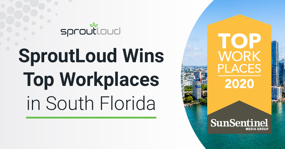 SproutLoud Wins Top Workplaces in South Florida Award