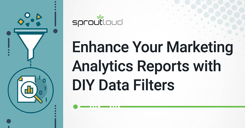 Enhance Your Marketing Analytics Reports with DIY Data Filters