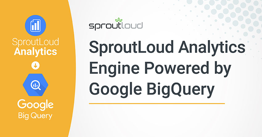 SproutLoud Analytics Engine Powered by Google BigQuery