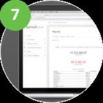 laptop displaying SproutLoud SaaS marketing platform